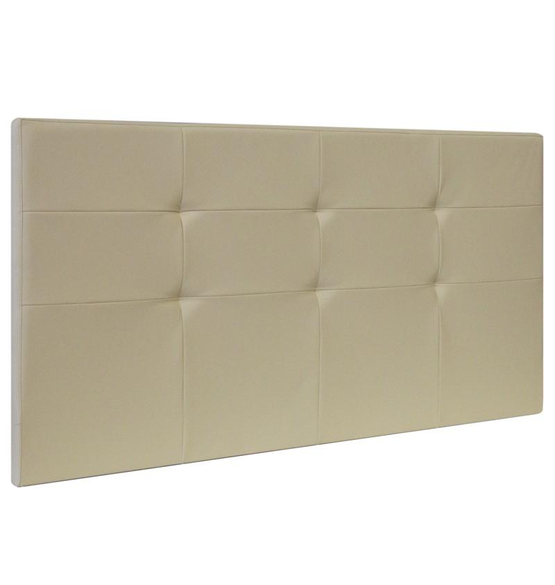 Testata per letto imbottita ecopelle e tessuti - Testate letto con cuscini ...