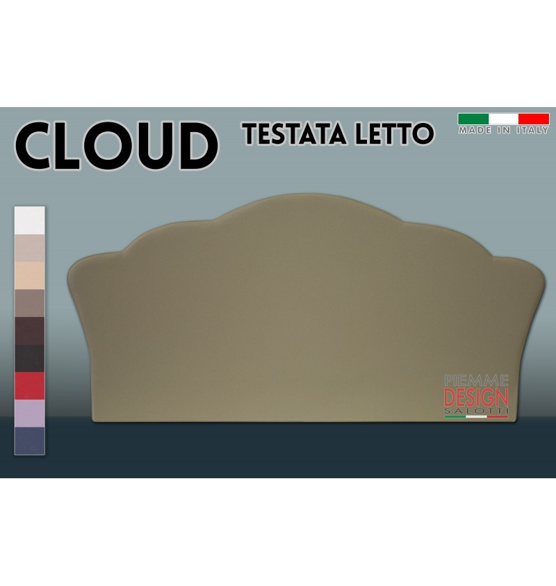 Testata letto cloud piemme design salotti official store - Testata letto design ...