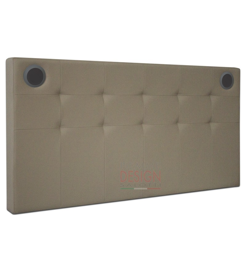 Bed Header Model SOUND WALL PM Design Italia Official