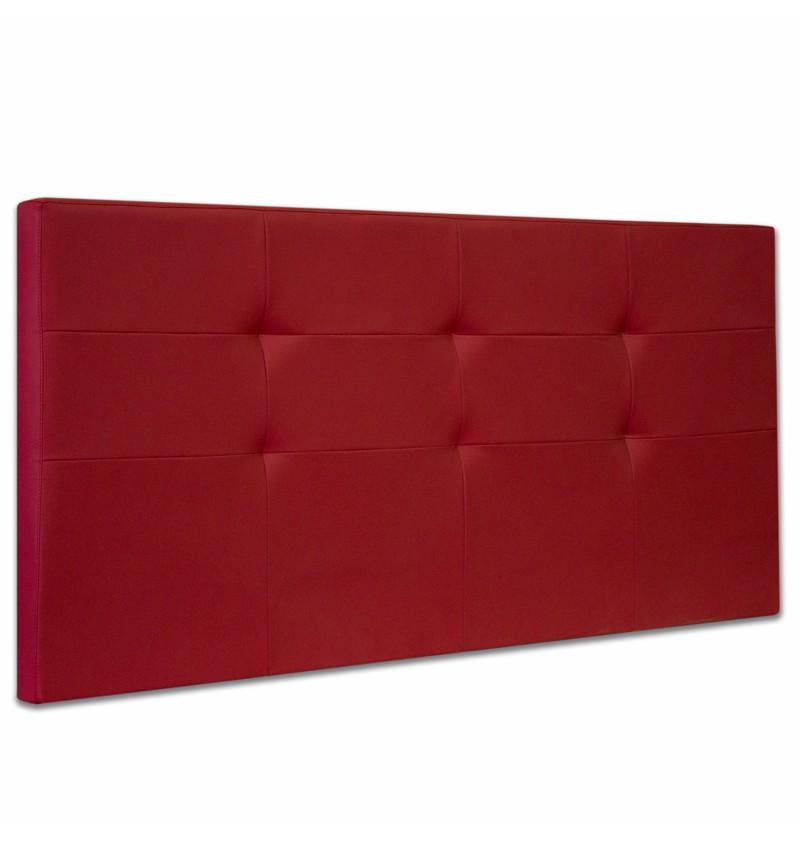 Testata per letto imbottita ecopelle e tessuti - Testata del letto imbottita ...